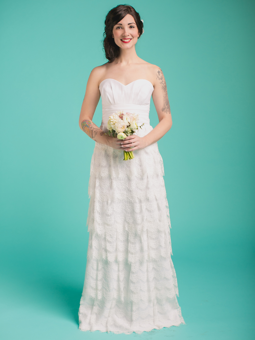 Modern Wedding Dress Made To Order Elaboration - All Wedding Dresses ...